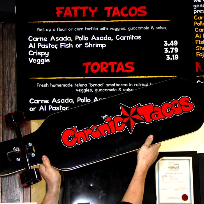 Chronic Tacos Longboard Complete Canada Pickup Vancouver