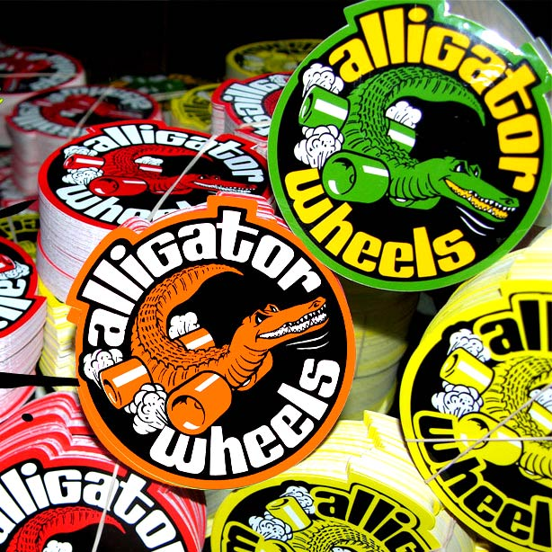 Alligator Wheels Stickers Canada pickup Vancouver