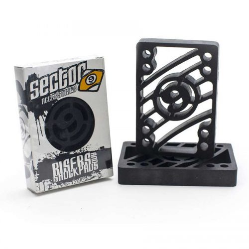 "Sector 9 Riser Pads 0.5"" Black Canada Online Sales Vancouver Pickup"