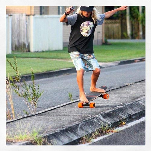 fiik-electric skateboards longboarder labs
