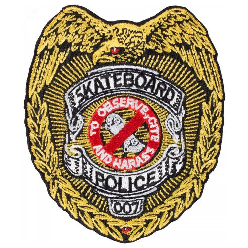 Powell-Peralta Skateboard Police Patch Canada Online Sales Pickup Vancouver