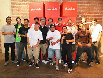 20 years Chocolate Skateboard Dealers Canada online sales pickup Vancouver