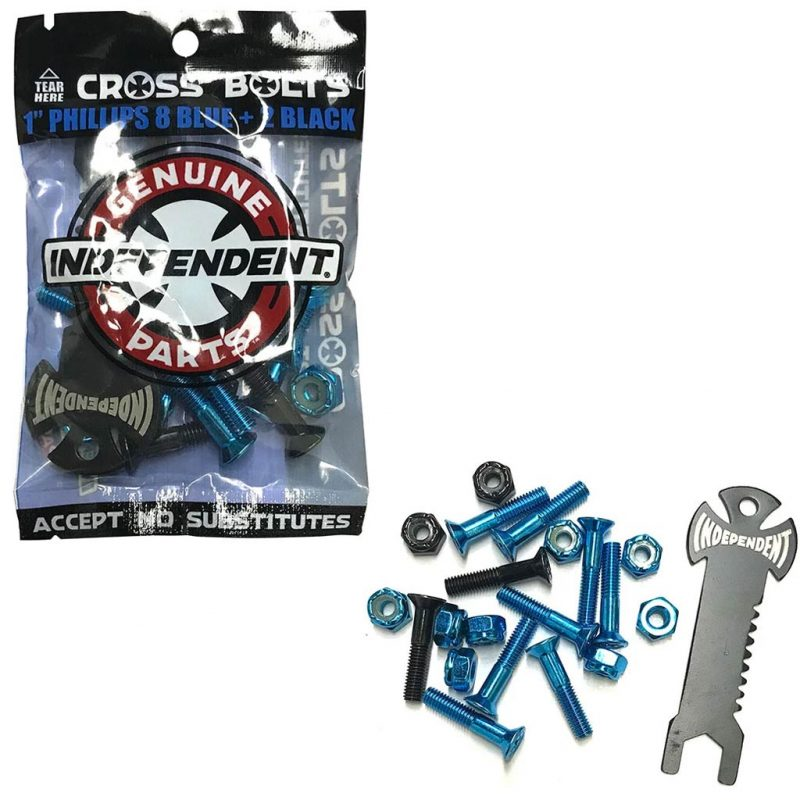 Independent Indy Blue Bolts Hardware Canada Pickup Vancouver