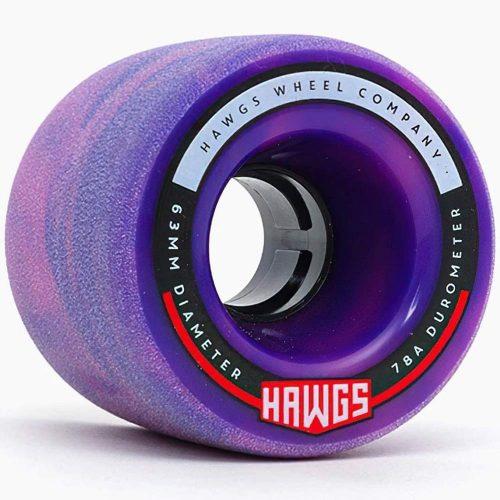 Landyachtz Hawgs Fatty 63mm 78a Purple Skateboard Wheels Canada Pickup Vancouver