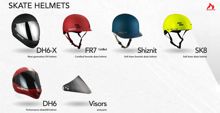 Predator Helmets Canada Online Sales Pickup Vancouver