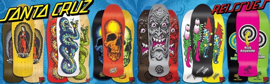 Buy Santa Cruz Reissue Skateboards Canada Online Sales Vancouver Pickup