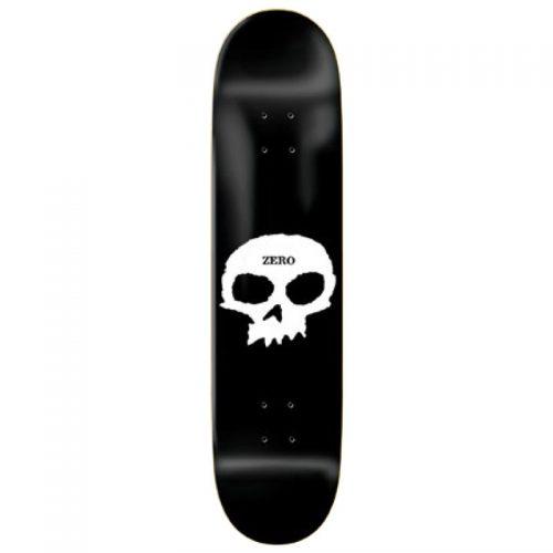 Buy Zero Skateboards Single Skull Deck 8.0'' Vancouver Online SHopping Canada