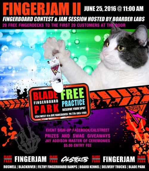 Fingerboarding Contest Vancouver Canada