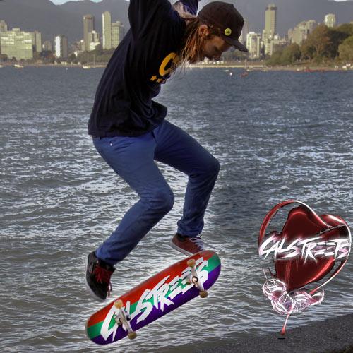 Adam Wiggum Skating Vancouver Waterfront CAlStreets Skates Slick
