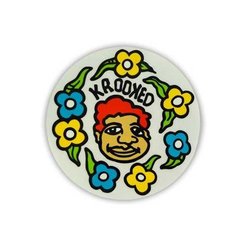 Krooked Skateboard Sticker Gonz 5'' Vancouver