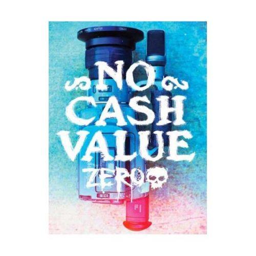 Zero Skateboard Sticker No Cash Value 2.75'' x 3'' Vancouver Canada