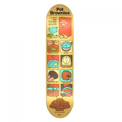 skate mental pot brownies x 31 5 deck calstreets. Black Bedroom Furniture Sets. Home Design Ideas