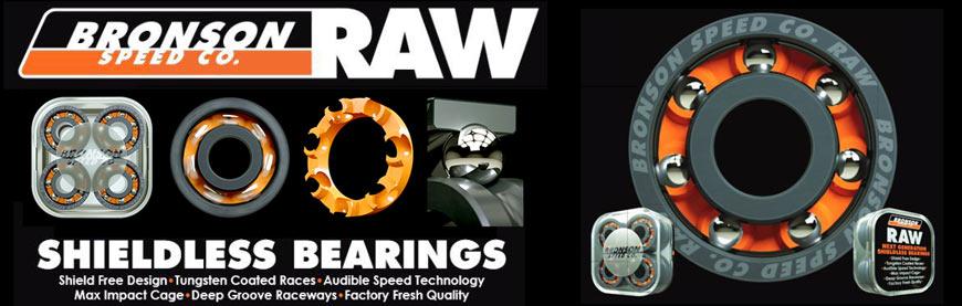 Buy RAW Bronson Bearings Online Canada or Pickup Vancouver BC