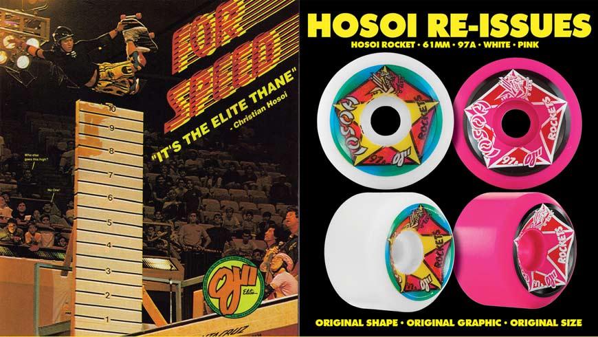Buy OJ Hosoi Rocket Reissue Wheels Canada Online Sales Vancouver Pickup