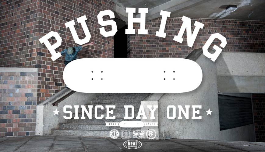 Real skateboards Day one header vancouver online shopping Canada