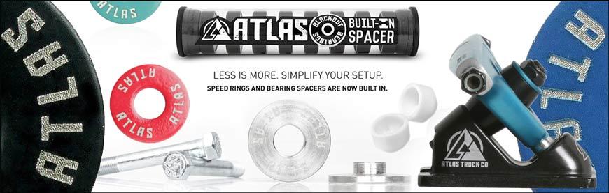 Buy Atlas Precision Flat Washer Set Black Vancouver Canada Online Skateshop