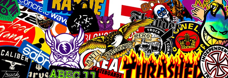 Thrasher Sticker Collage Canada Online Sales Pickup Vancouver