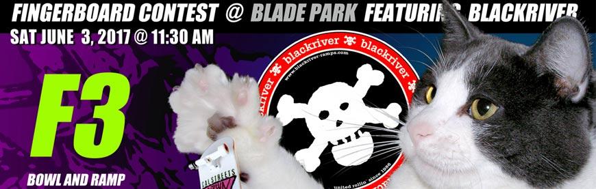 F3 Fingerjam III Fingerboard Contest Vancouver Blade Park Blackriver CalStreets Boarderlabs