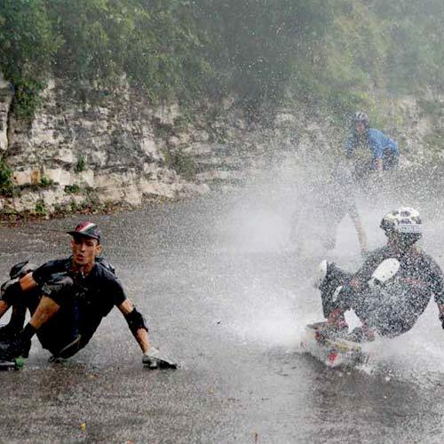 Cuba Rain Slide BC