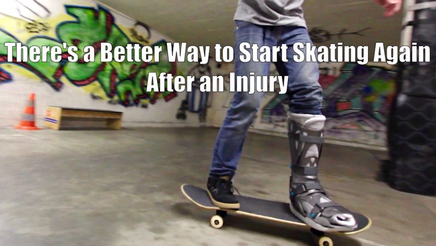 How to Get Back into Skateboarding After Injury