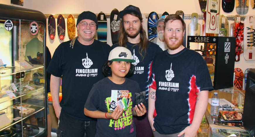 Fingerboard Contest Vancouver Fingerjam III CalStreets Boarderlabs