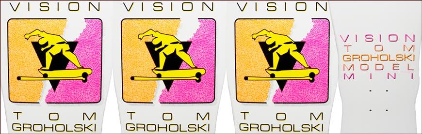 "Buy VISION GROHOLSKI MINI HURRICANE DECK 9.5"" x 29.125"" Canada Online Sales Vancouver Pickup"