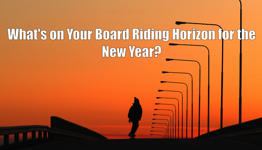 New Year Resolutions for Skateboarders