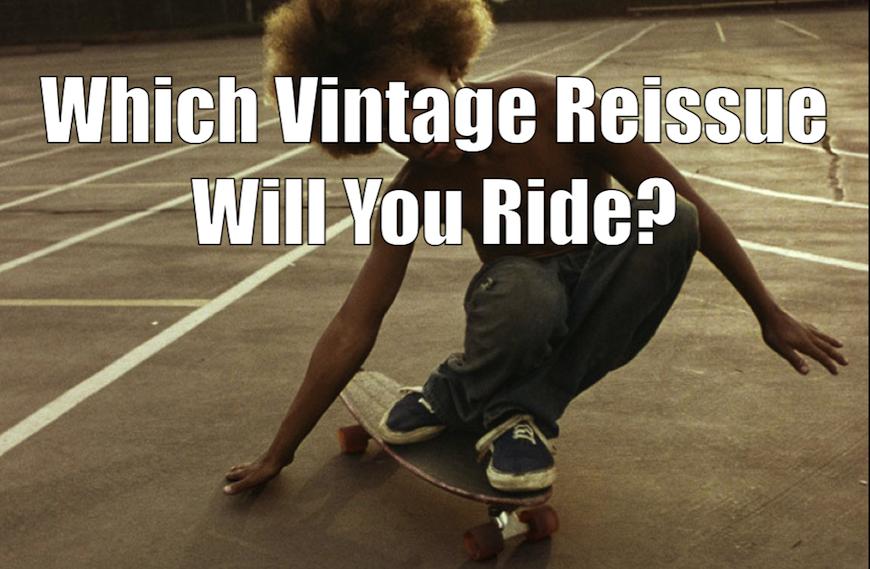 Old School Reissue Skateboard Decks
