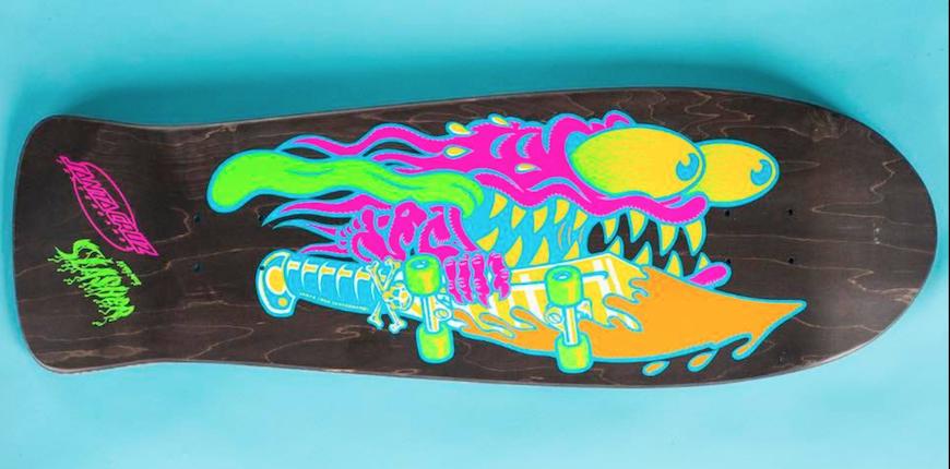 Old Skool Reissue Skateboard Deck - Santa Cruz