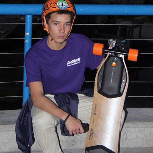 Boosted Electric Skateboards Vancouver Granville Island Ride