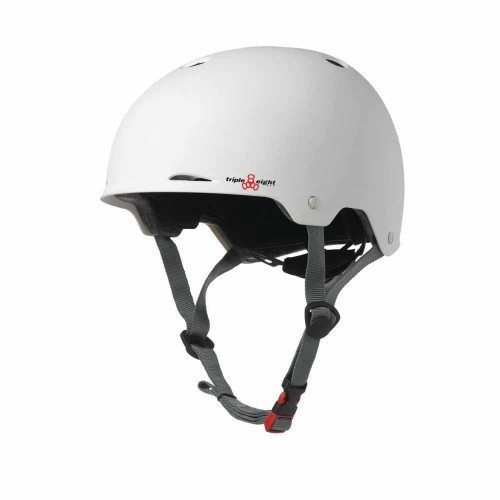 Triple 8 Gotham Helmet White Matte