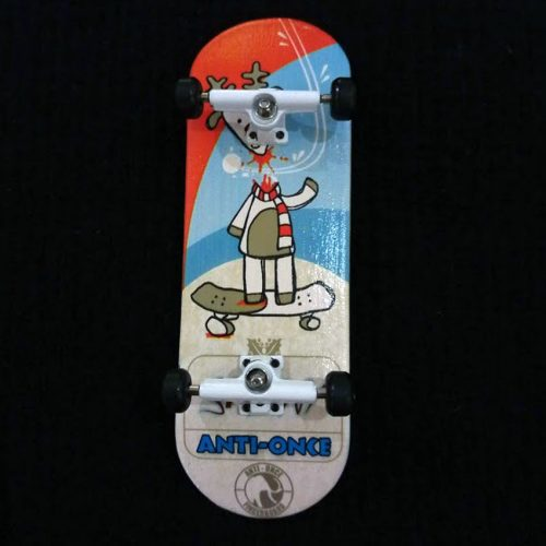 Buy ANTI ONCE 33MM Fingerboards Headless Skater Complete Canada Online Sales Vancouver Pickup
