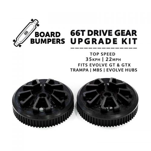 Buy Board Bumpers Evolve All-Terrain 66T Drive Gear Upgrade Kit For Trampa and MBS Canada Online Sales Vancouver Pickup