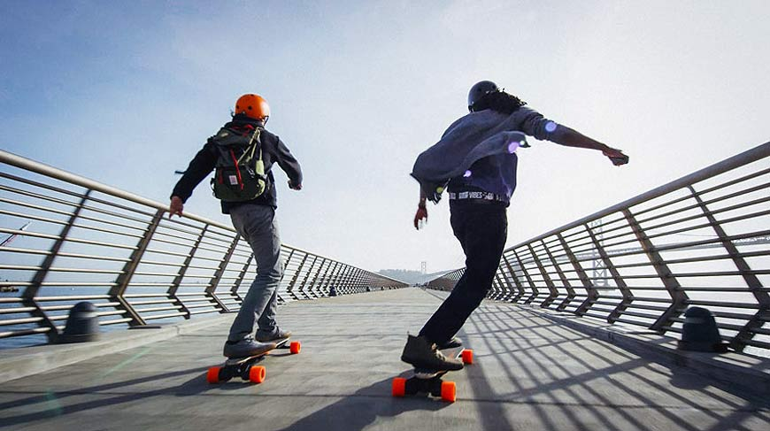 Boosted 2nd Generation Electric Skateboard Vancouver Canada
