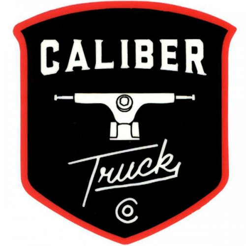 "Caliber Trucks 3"" x 4"" Sticker Buy Online Shopping Vancouver Canada"