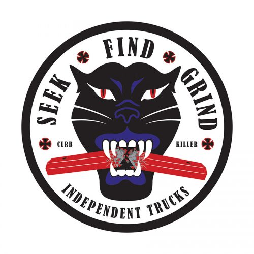 Buy Independent Curb Killer Sticker Canada Online Sales Vancouver Pickup