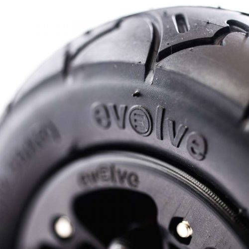 "Evolve 7"" Tire Black Vancouver"