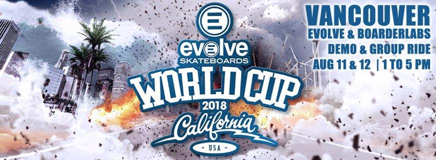 Evolve Skateboards Vancouver Group Ride Demo Online Sales Canada