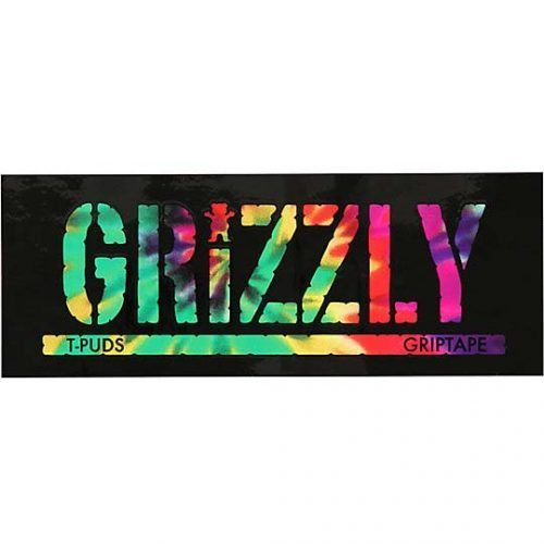 Grizzly griptape sticker