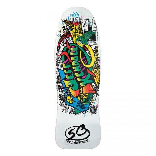 Santa Cruz Jeff Kendall Snake Old School Reissue Skateboard Deck