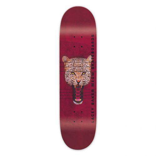 "Buy Meow Skateboards Lacey Baker Red Jones Deck 8.0"" x 31.75"""