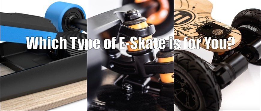 Types of Electric Skateboards