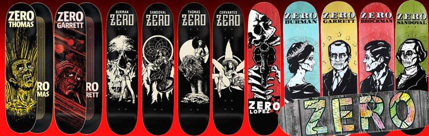 Buy Zero Skateboards Online Pickup Vancouver