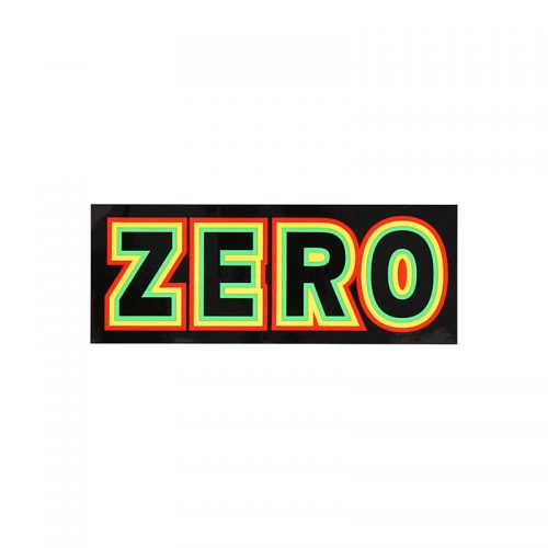 Zero Bold Rasta 5.5'' x 2'' Sticker Buy Online Vancouver Shopping Canada