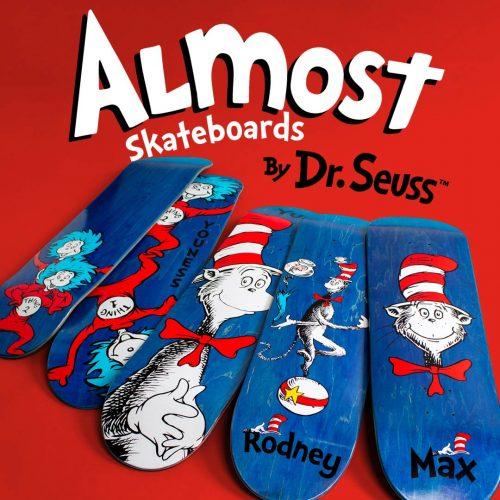 Buy Almsot Dr. Seuss Collection Skateboards Canada Online Sales Vancouver Pickup