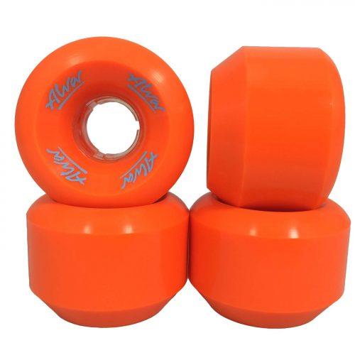Aqua Blue New with no packaging ALVA Conical Skateboard Wheels 59mm 101A