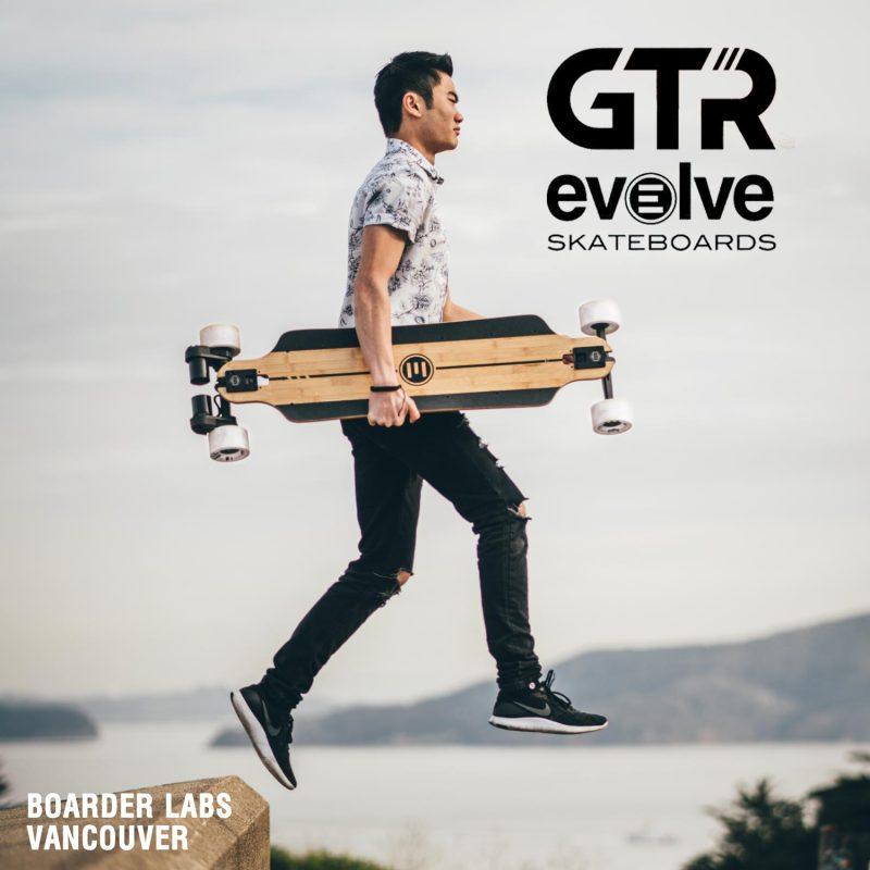 Buy Evolve GTR Series Electric Skateboard Canada Online Sales Vancouver Pickup