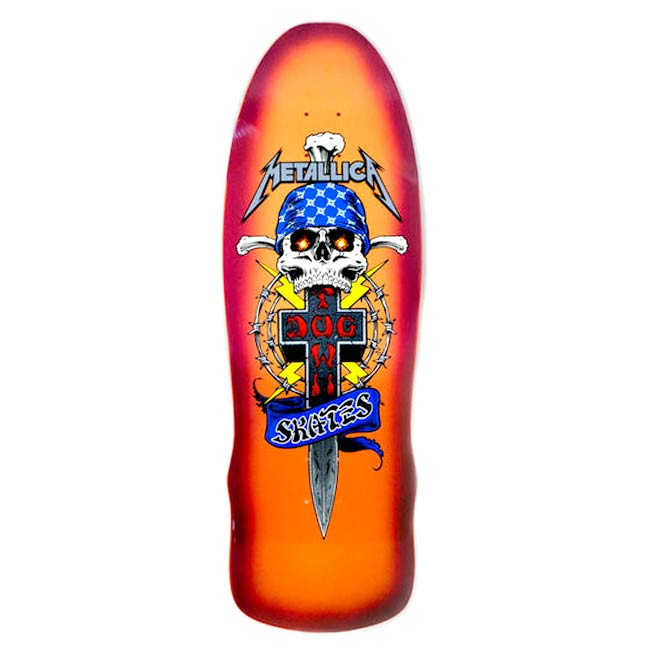 Mettallica Dogtown deck collab Canada Online Sales Pickup Vancouver