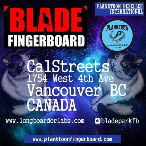 Blade Fingerboard Park Vancouver Canada Fingerjam Contests
