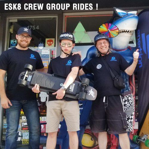 Esk8 Garage Vancouver Custom Mod Electric skateboards Canada